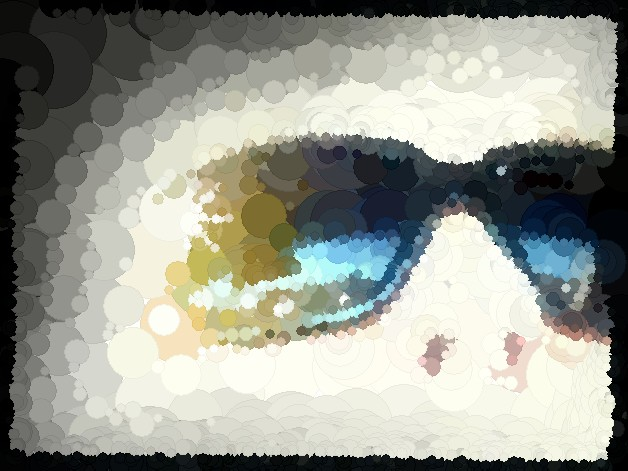 FotoSketcher - Sunglasses2.pixelator