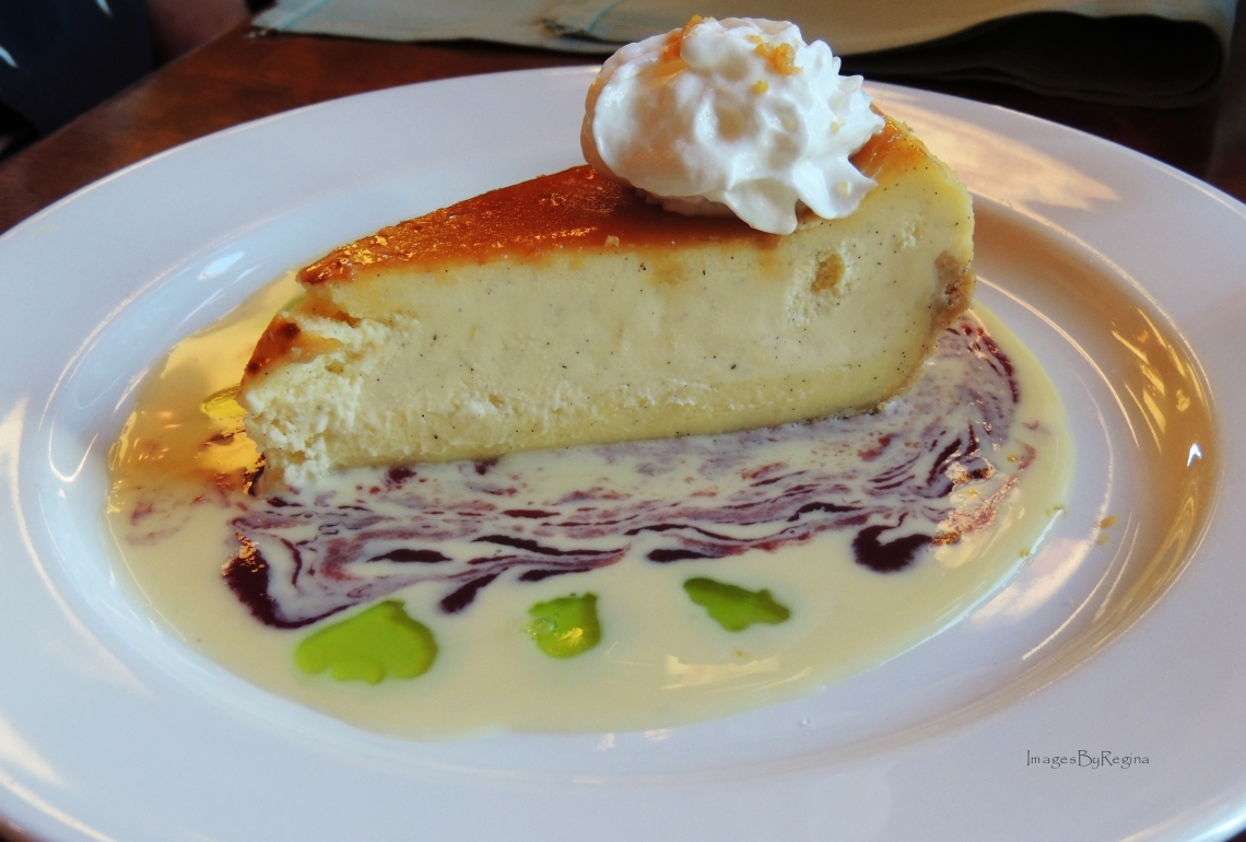 Who can resist Creme Brulee cheesecake?